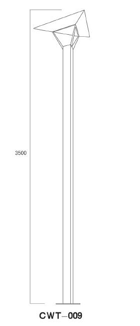Garden Lamp Pole
