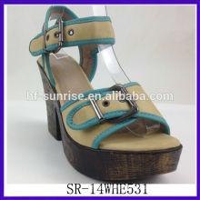 SR-14WHE531 2014 fashion platform wedge sandals new sexy women wedge sandals high-heeled sandals with high quality