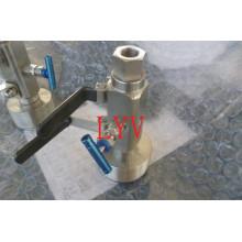 Двв нержавеющей стали шаровой клапан для трубопровода с API и ISO сертификат