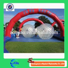 De la bola inflable de la bola inflable de la bola de balanceo de las pistas de carreras inflables para la venta