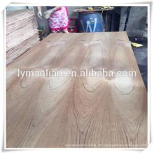 Teakholz-Sperrholz für Tür, Burma Teak Fancy Plywood, Goldenes Teak Furnier Furnierholz für Indien