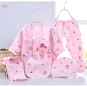 El bebé recién nacido imprimió la ropa infantil 5PCS