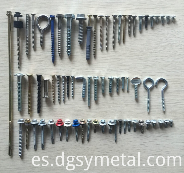 custom metal screw