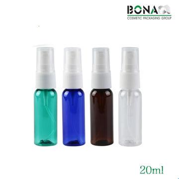 Бутылка для бутылочки для бутылочек с высоким качеством 20 мл с распылителем