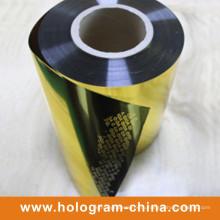 Золото Алюминиевая тиснение
