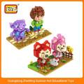 LOZ Educational Toys children plastic magnetic building blocks for promotion
