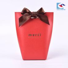 Caixa de papel de empacotamento do presente dos biscoitos extravagantes feitos sob encomenda populares do projeto