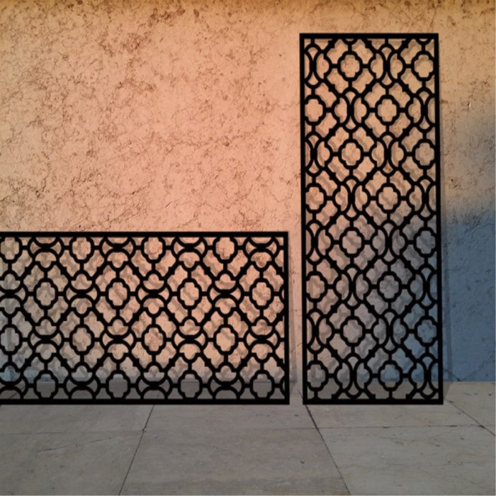 Decorative Metal Window Screen