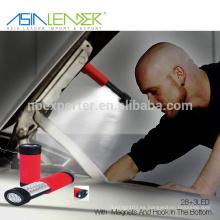 Productos de Iluminación Profesional BT-4899 28LED + 3LED Magnetic LED mecánicos de trabajo de la luz de trabajo, luz LED portátil de trabajo