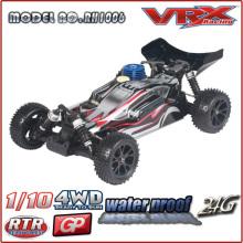 01:10 4WD nitro RC carro modelo buggy, VRX Racing espírito N2 RC com duas velocidades