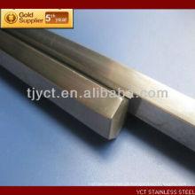 Barra quadrada de aço inoxidável de AISI 304 / 304L