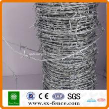 ISO, SGS, BV Anping Shunxing Fabrik Galvanisierte und PVC beschichtete billig Stacheldraht