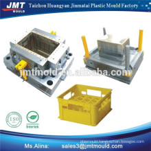 plastic injection beer crate mold making