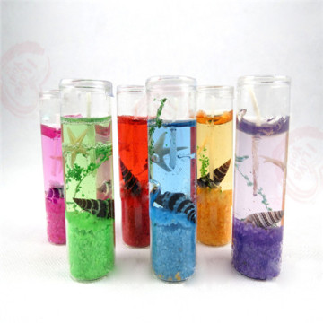 Crystal Jar Gel Wax Ocean Tema Jelly Candles