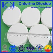 Agente auxiliar químico Tableta de dióxido de cloro Fabricado en China
