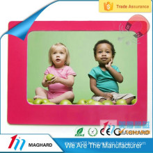 pink color kids magnetic photo picture frame
