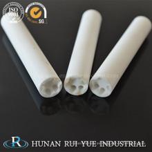 Tubos de cerámica de alúmina Al2O3
