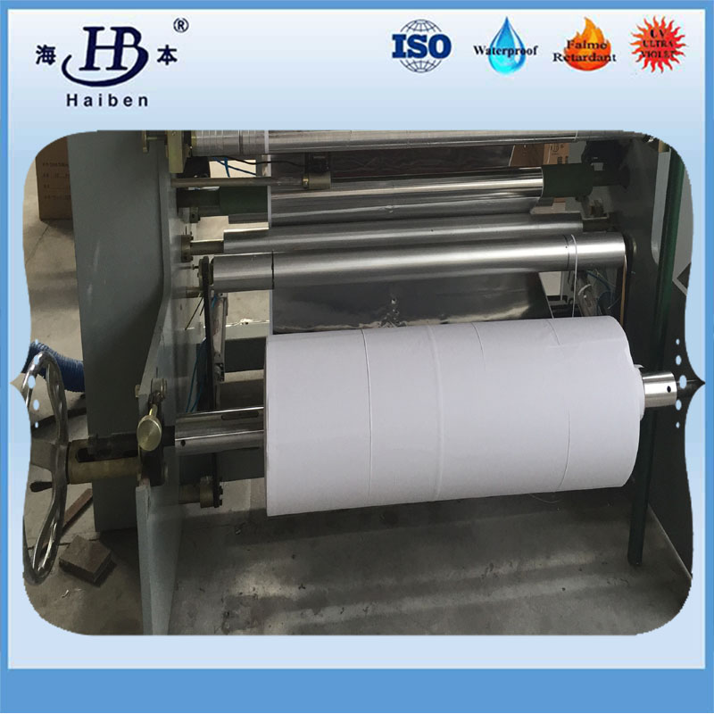 machine of aluminized fiberglass fabric-5