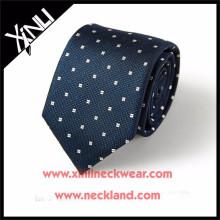 Homens Luxo 100% Tecido China Gravata De Seda Fabricante
