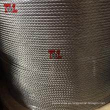 Cuerda de alambre de acero inoxidable 4 mm