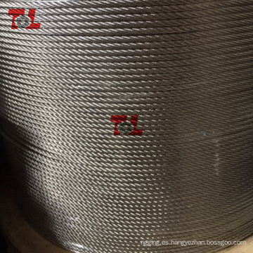 Cuerda de alambre de acero inoxidable 6 mm