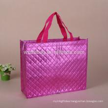 2017New Design Luxury Aluminium Foil Non Woven Bag In Stock ,Tote Non Woven Shopping Bag,Non Woven Gift Bag
