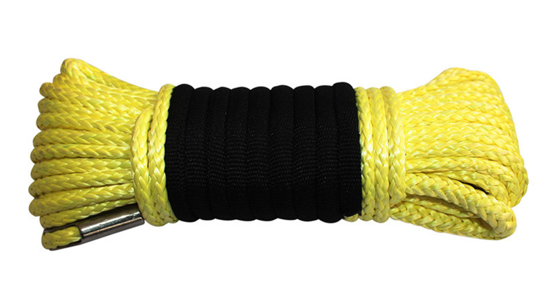 Yellow UHMWPE Winch Rope 799px