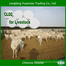 2015 Hot Sell Chlorine Dioxide Tablet for Livestock Disinfection