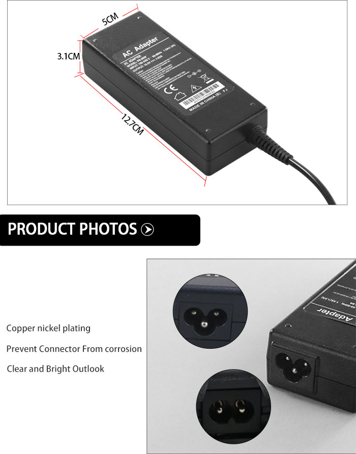19.5v 4.74a hp laptop computer charger