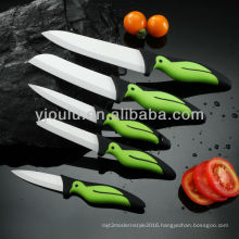 knife ceramic with tpe handle