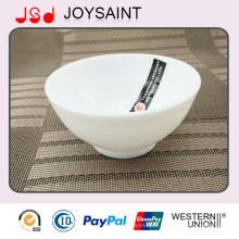 Bol de verrerie d'emballage en vrac de sécurité ou étoiles individuelles décorent bol de riz de verrerie pour la promotion
