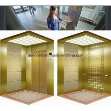 Зеркало Вытравило Нержавеющую Сталь Коммерческого Пассажирского Лифта