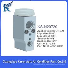 Auto peças de válvula de expansão de ar condicionado para HYUNDAI