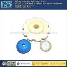 Piezas de PVC de inyección personalizada, cnc piezas de plástico de mecanizado, piezas de automóviles