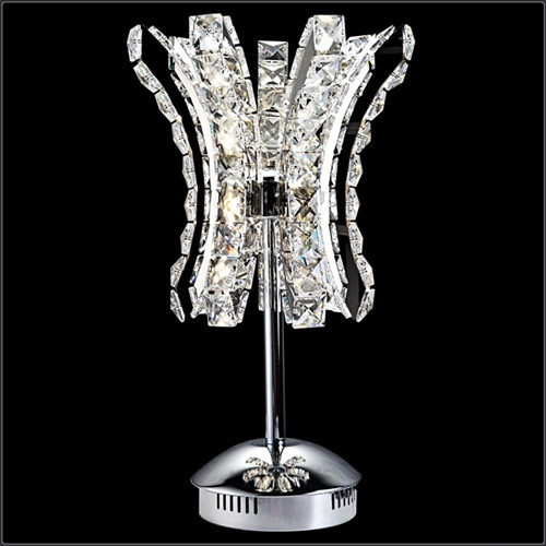 led modern crystal table light
