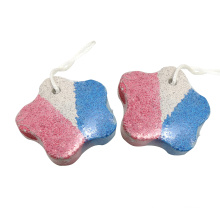 Professional Dead And Dry Skin Pumice Stone Star Shape Pumice Scrubber