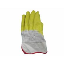 Heavy Duty Sicherheitsmanschette Latex Coated Worki Handschuh
