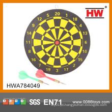 """Hot Sale Classic 9 """"placa de dardo de madeira"""