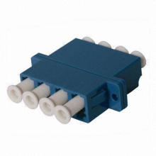 LC Fiber-Optic Adapter with 4 Port