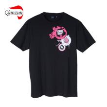 Fashion Dark Customed Design Cotton Pop T-Shirts (LWC-287)