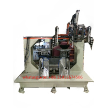 5 axis CNC high speed 3 heads disc brush machine(2 driling and 1 tufting)