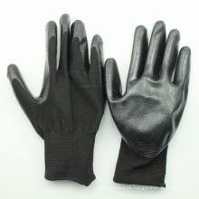 Guantes de algodón de palma revestidos con nitrilo