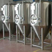 Cervecería Cilíndicamente Cónica Tanque de Fermentación de Cerveza CCT