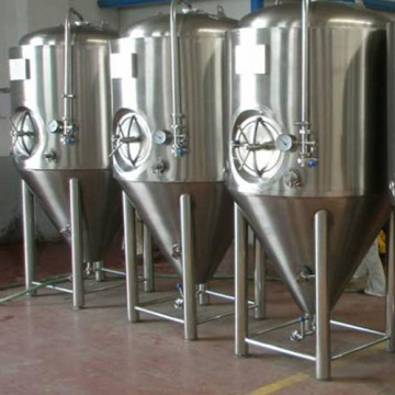Craft Brewing cerveza bodega tanques acero inoxidable