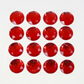 Autocollant 4x4 Red Diamond Scrapbooking Gemstone