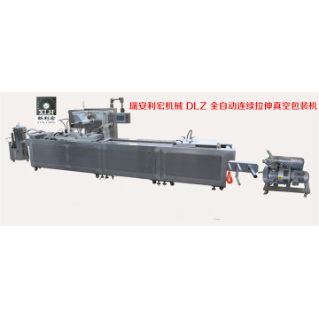 Dlz-320 Full Automatic Continuous Stretch Electrical Component Vacuum Packaging Machine