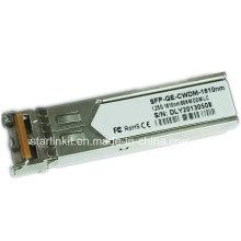 Transceptor de fibra ótica SFP-Ge-CWDM-1610nm de terceiros compatível com Switches Cisco