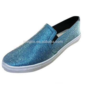 Glitter PU/PVC Leather for shoes /bag upper