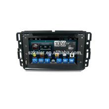 """8 """"sistema multimídia carro, fábrica diretamente! Quad core, GPS, rádio, bluetooth para GMC"""