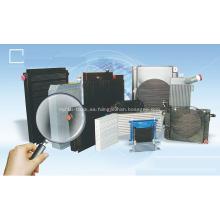 Maquinaria de construcción Soldado intercambiador de calor